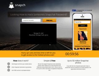 snapch.net screenshot