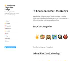 snapchatemoji.com screenshot