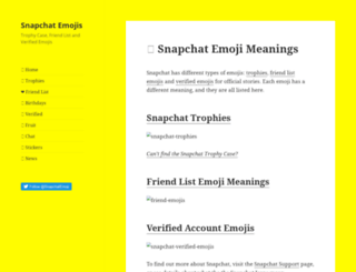 snapchatemojis.com screenshot