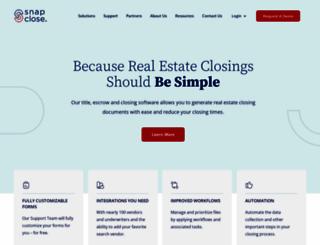 snapclose.com screenshot
