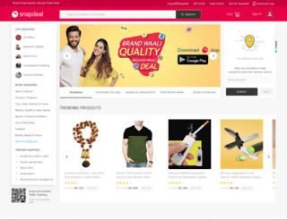snapdeal.co.in screenshot