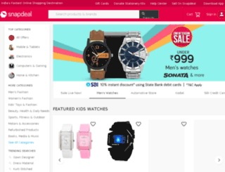 snapdealmail03.in screenshot