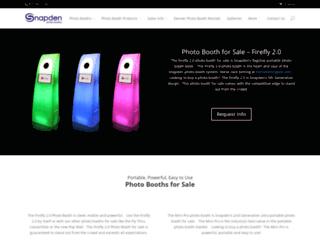snapdenphotobooths.com screenshot