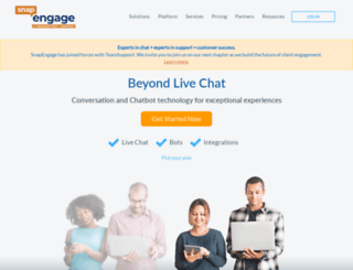 snapengage.com screenshot