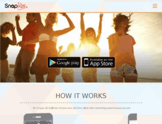 snapkiss.co screenshot