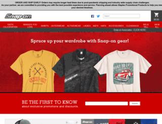 snapongear.corpmerchandise.com screenshot