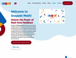 snappet.org screenshot