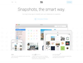 snappy-app.com screenshot