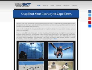 snapshot-tours.co.za screenshot