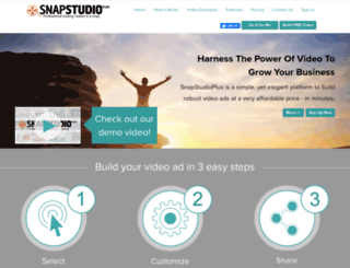 snapstudioplus.com screenshot