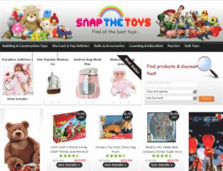 snapthetoys.com screenshot