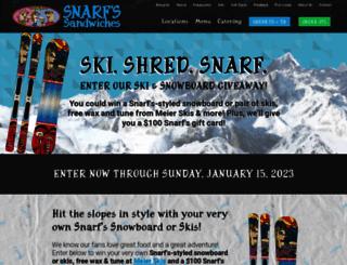 snarfboard.com screenshot