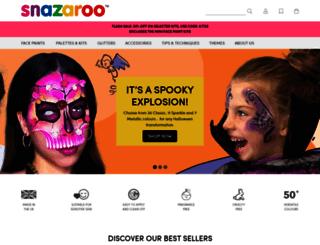 snazaroo.co.uk screenshot