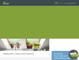 snazzylofts.co.uk screenshot