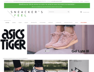 sneackers-feel.fr screenshot