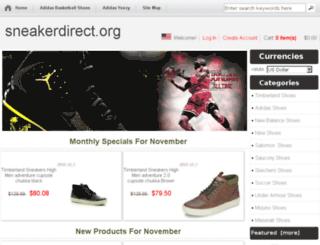 sneakerdirect.org screenshot
