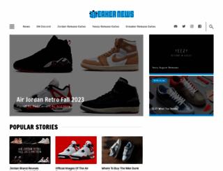sneakernews.com screenshot