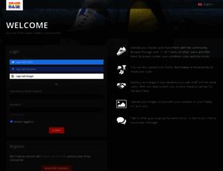 sneaksbay.de screenshot