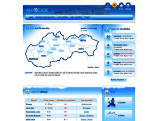 sneh.in-pocasie.sk screenshot