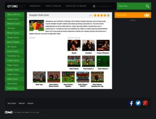 sneijderkafagolu.oyunu.net screenshot