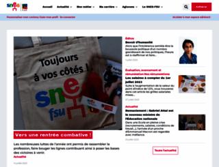 snes.edu screenshot