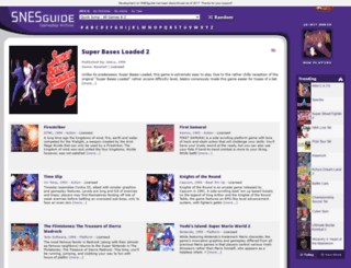 snesguide.com screenshot