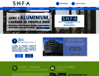 snfa.fr screenshot