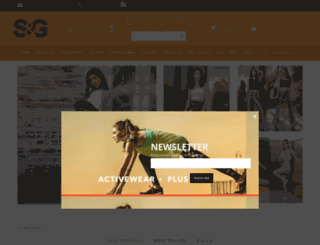 sngapparelinc.com screenshot