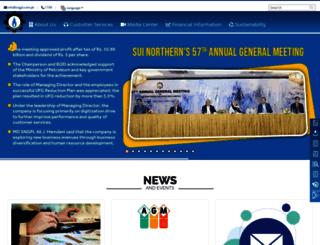 sngpl.pk screenshot