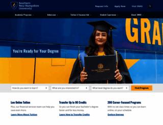 snhu.edu screenshot