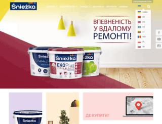 sniezka.ua screenshot