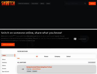 sniitch.com screenshot