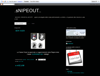snipeout.blogspot.com screenshot