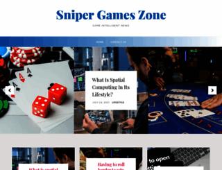 snipergameszone.com screenshot
