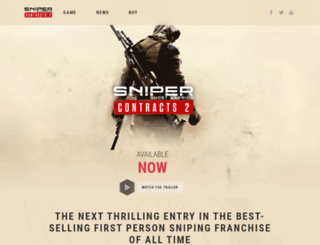 sniperghostwarrior.com screenshot