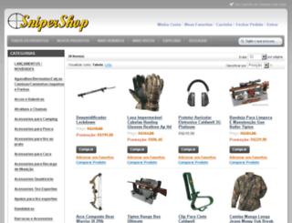 snipershop.com.br screenshot