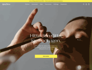sniph.com screenshot