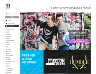 snipprshop.3dsupply.de screenshot