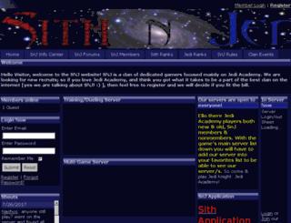 snjclan.spruz.com screenshot