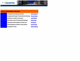 snl.salk.edu screenshot