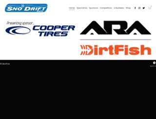 sno-drift.org screenshot