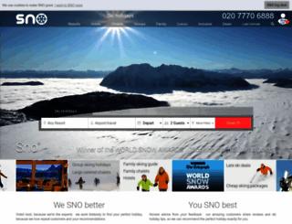 sno.travel screenshot
