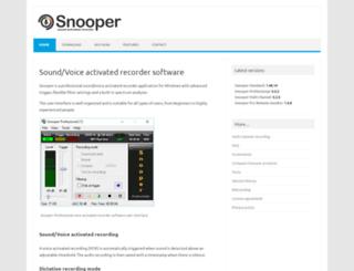 snooper.se screenshot