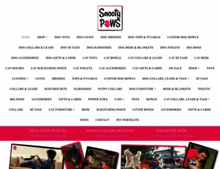 snootypaws.com.au screenshot