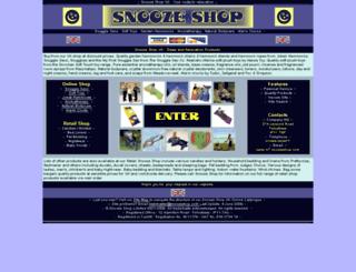 snoozeshop.com screenshot