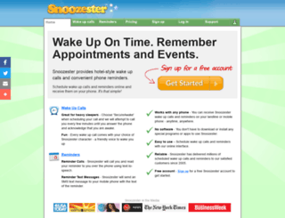 snoozester.com screenshot