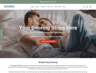 snoremeds.com screenshot
