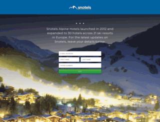 snotels.com screenshot