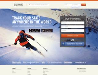 snow.traceup.com screenshot