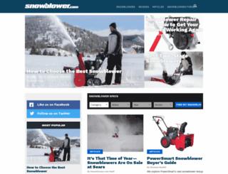 snowblower.com screenshot